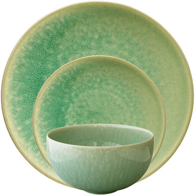 Jars Tourron 3 Piece Place Setting, Jade
