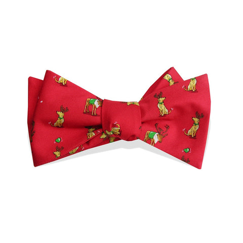 Bird Dog Bay Santa's Helper Christmas Bow Tie