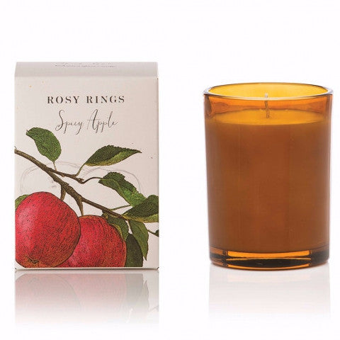 Spicy Apple Botanica Glass Candle