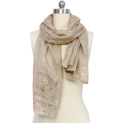 Sparkle Scarf - Gold