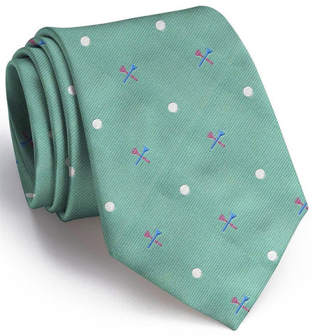 Tee Time English Woven Pedigree Tie