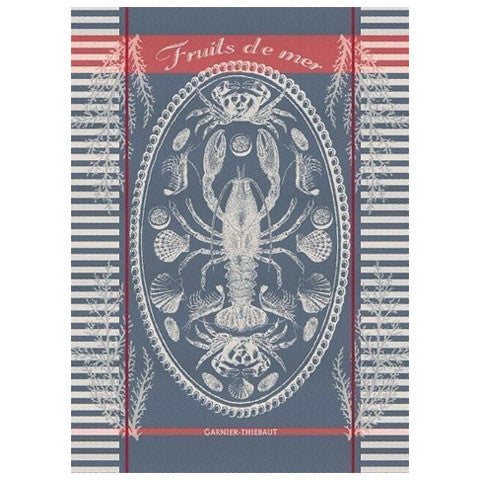 Garnier Thiebaut Fruits de Mer Tea Towel