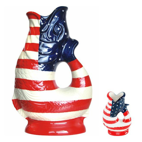 Gluggle Jug - USA Flag