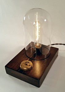 Clockwork Touch Lamp