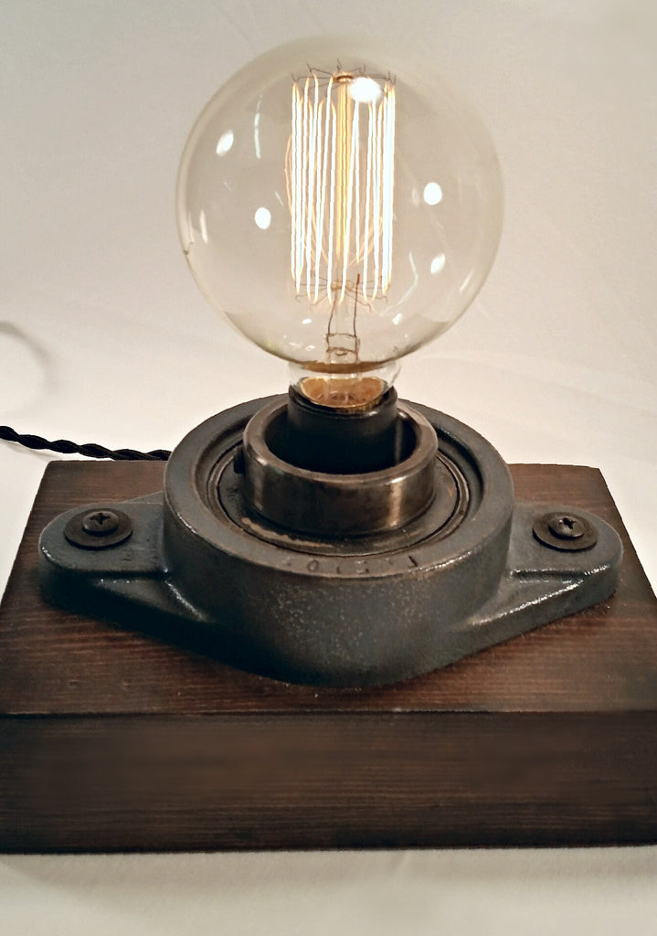 Cast Iron Industrial Touch Lamp (Large)