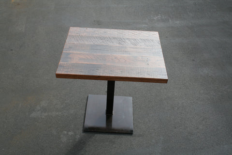 2 top restaurant table