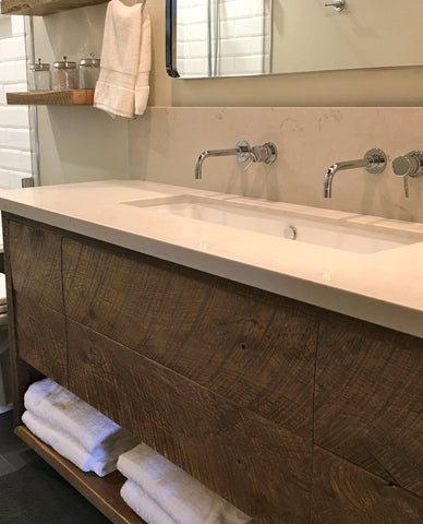 Reclaimed Oak Vanity
