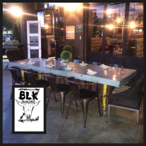 Blk Burgrz Community Table