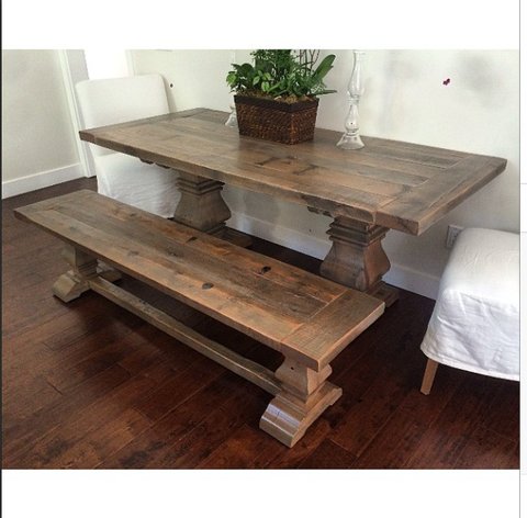 The Classic Trestle Table