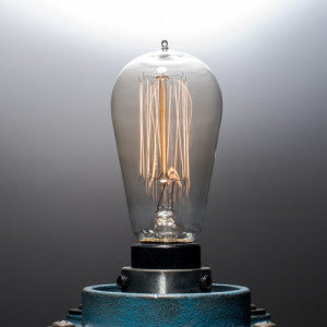 Cast Iron Industrial Touch Lamp (Small)