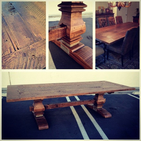 The New Trestle Table