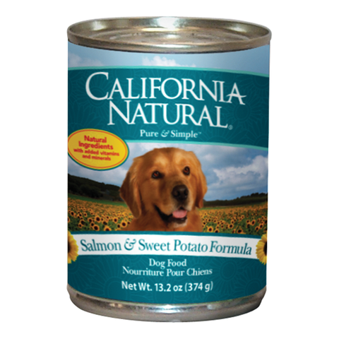 California Natural Salmon Dog Food - Case of 12 Cans