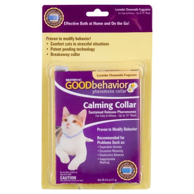 Good Behavior Pheromone Cat Collar