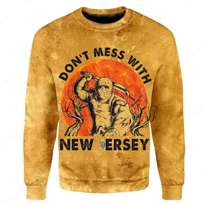 3D Full-Print Don't Mess With New Jersey Apparel