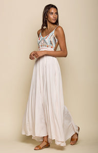 BAJA SUNSET BACKLESS MAXI