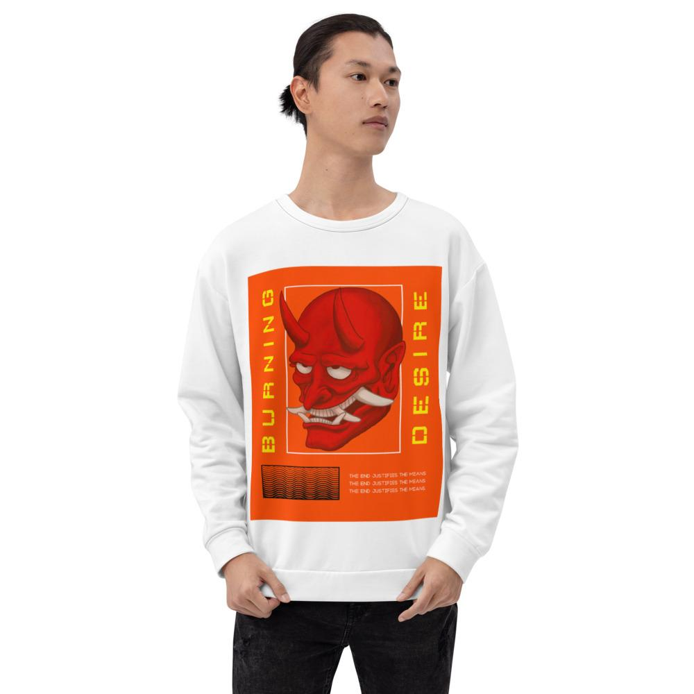 Unisex Sweatshirt - BURNING DESIRE