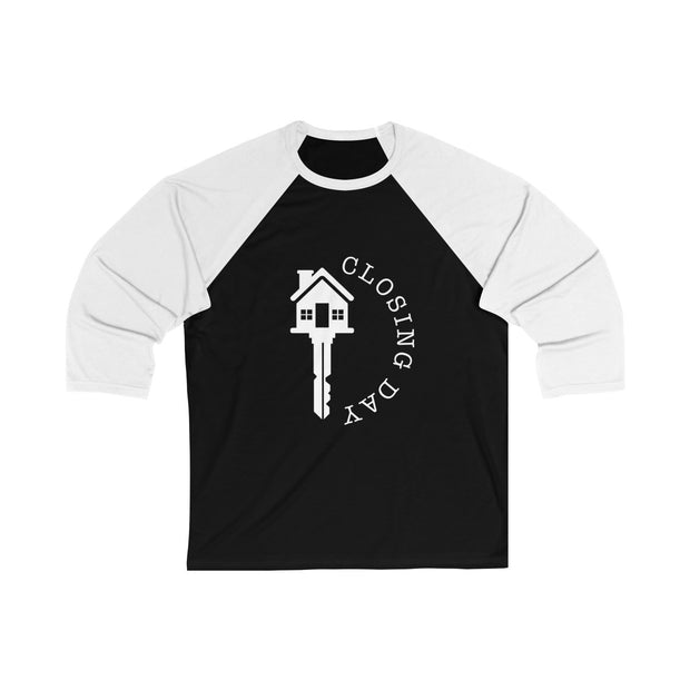 Closing Day Unisex 3/4 Sleeve Baseball Tee