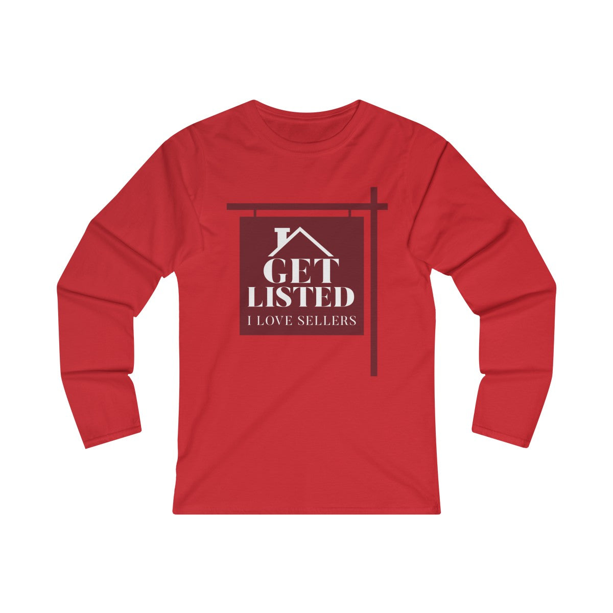 Get Listed! I Love Sellers™ Long Sleeve Tee