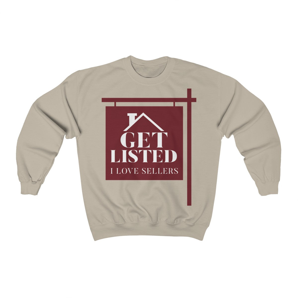 Get Listed! I Love Sellers™ Crewneck Sweatshirt