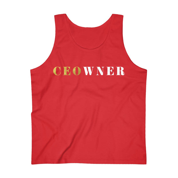 CEOwner™ Men's Ultra Cotton Tank Top
