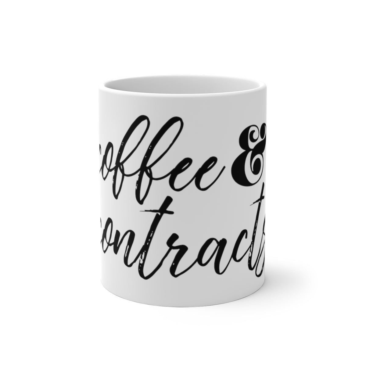 Coffee & Contracts Color Changing Mug
