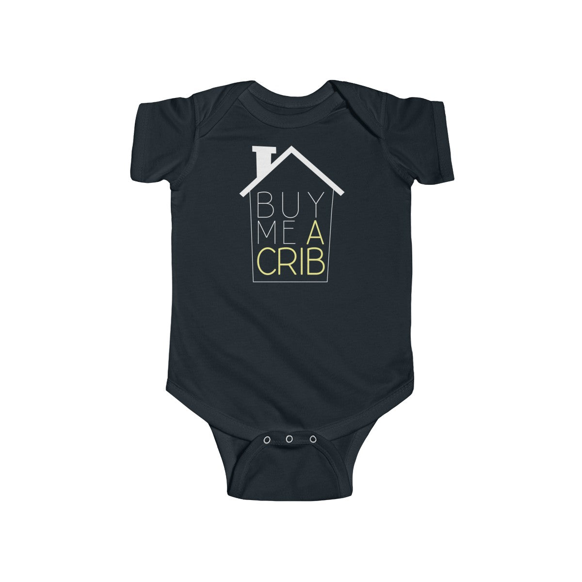 Buy Me A Crib™ Infant Short Sleeve Onesie