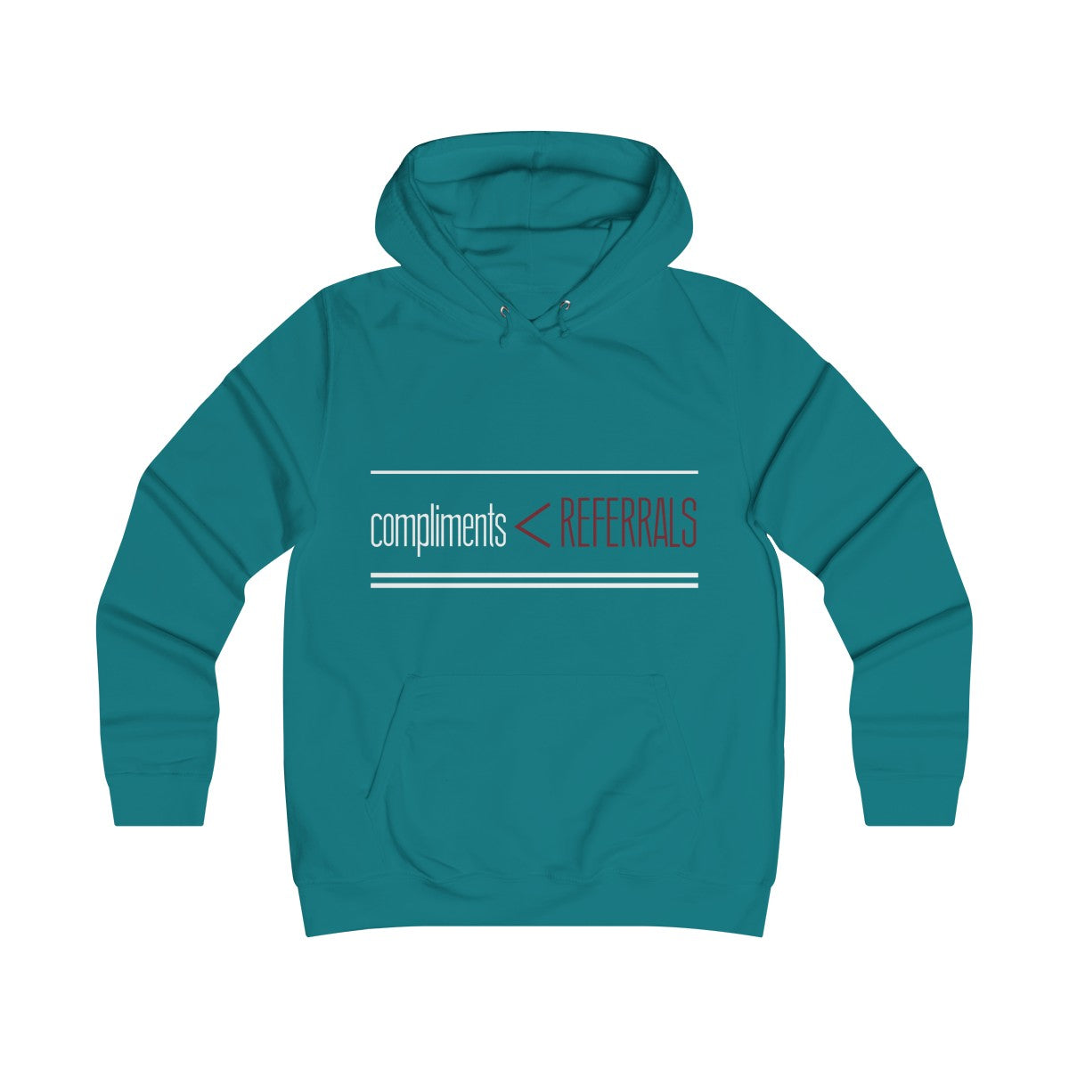 Compliments < Referrals Women's Hoodie
