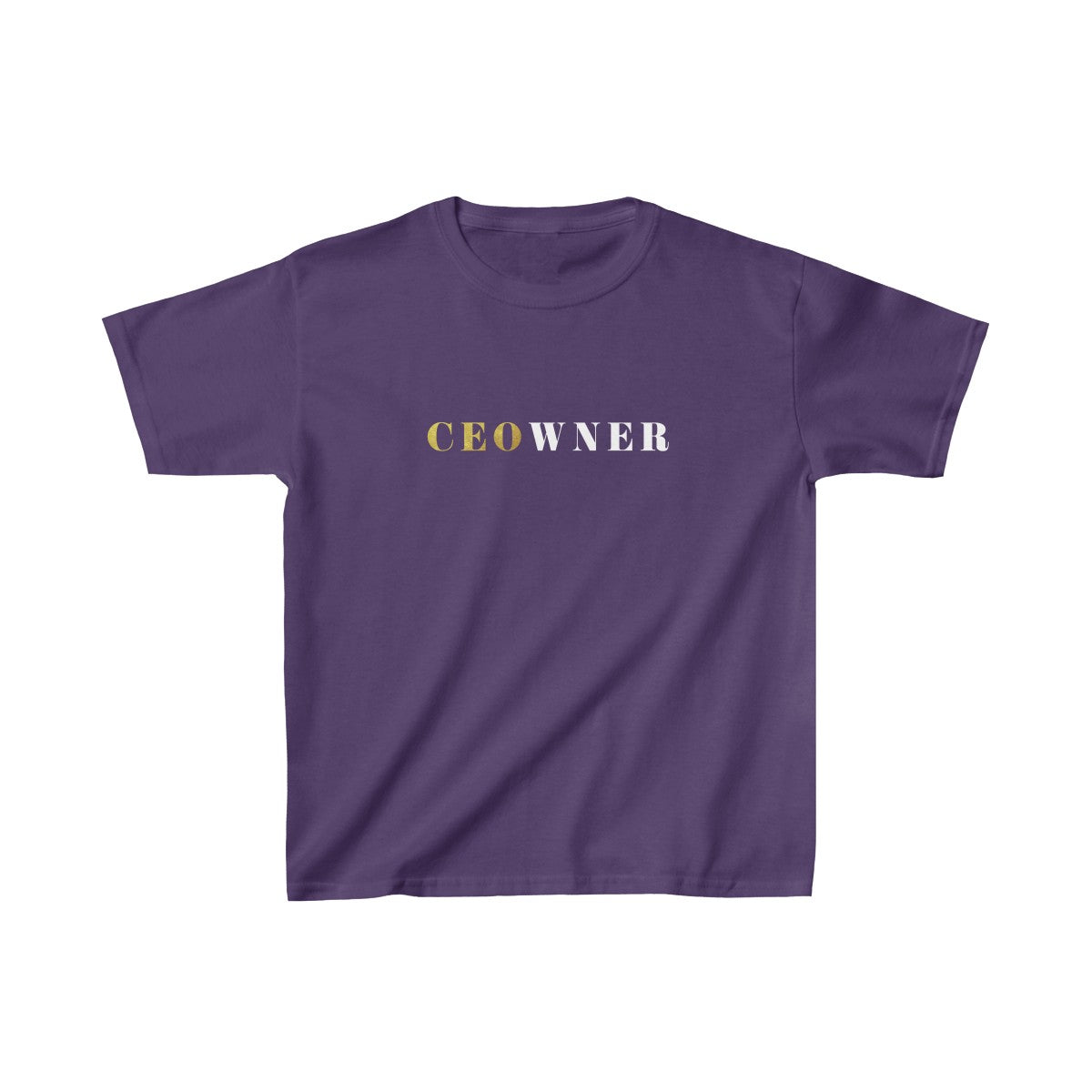 CEOwner™ Kids Heavy Cotton Tee