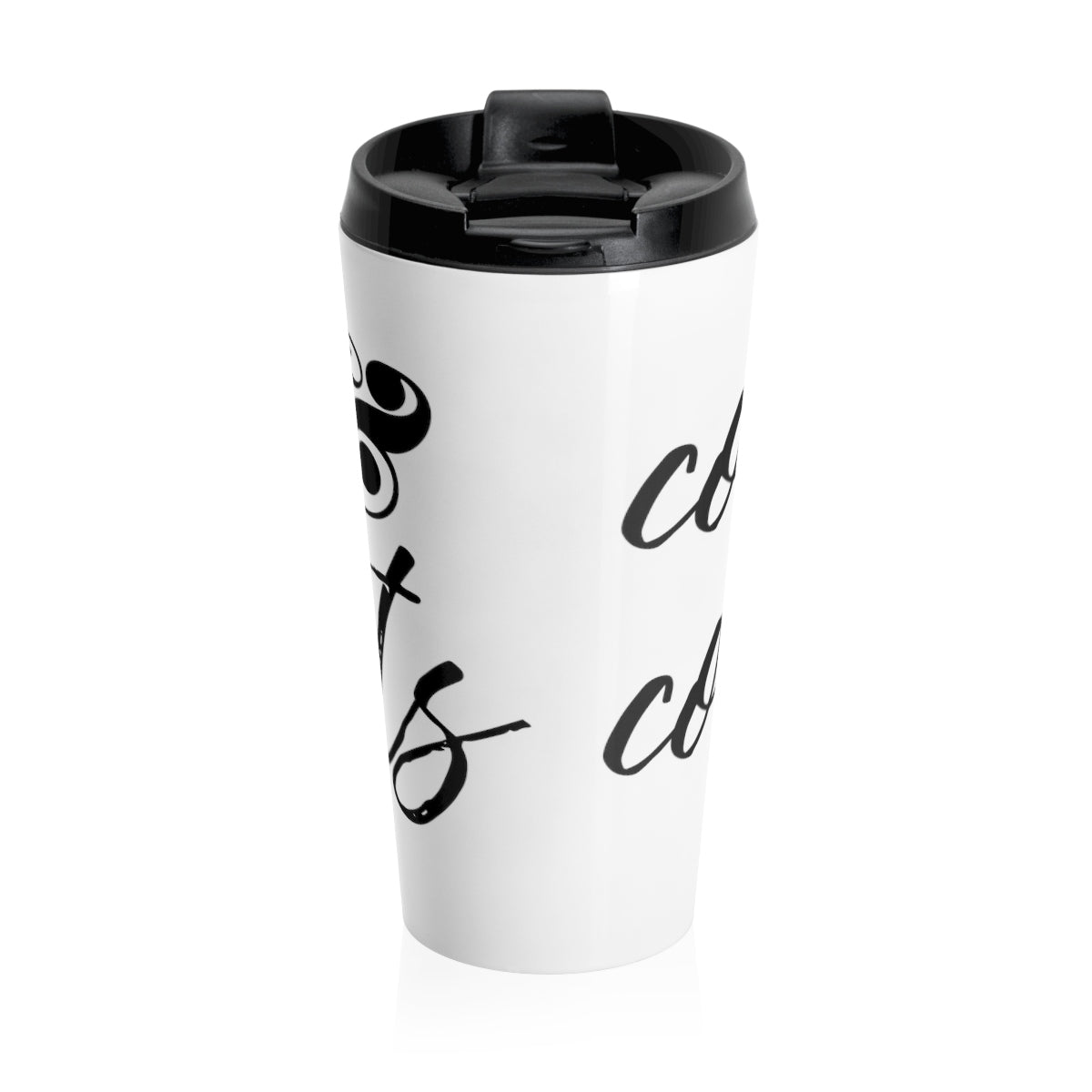 Coffee & Contracts Stainless Steel Travel Mug