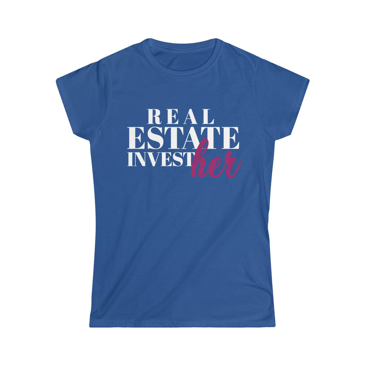 Real Estate InvestHer Women's Softstyle Tee