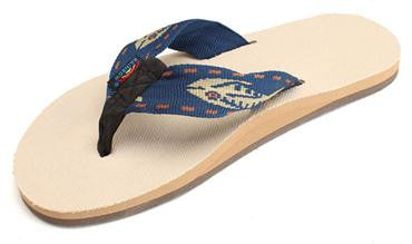 Rainbow Mens Hemp Sandals - Raw Skin Surf Shack