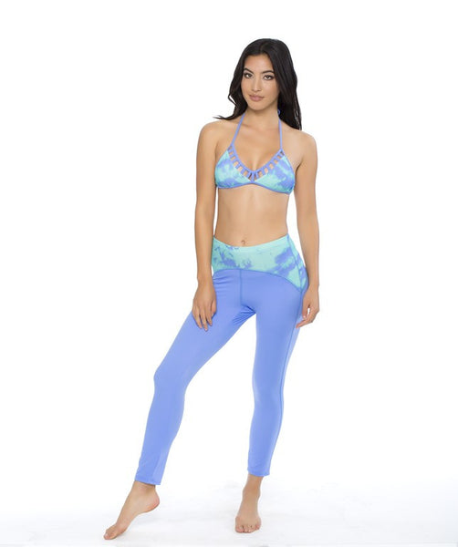 Reef Island Mist Crop Legging