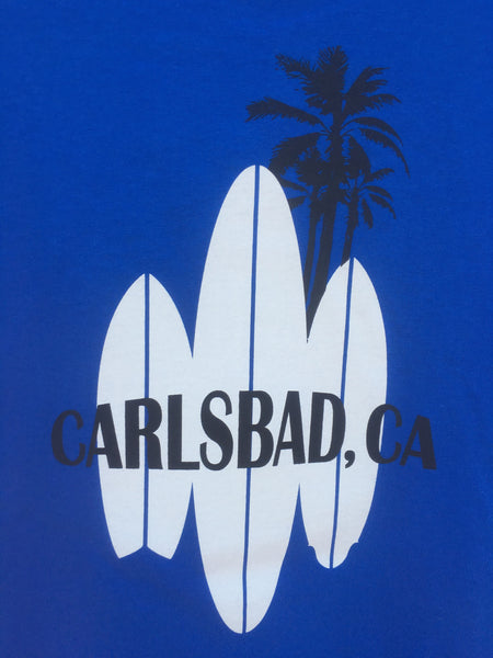 Mens Carlsbad Surfboards Zip Up Sweatshirt