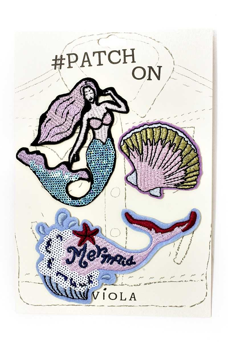 Iron on Patches - Raw Skin Surf Shack