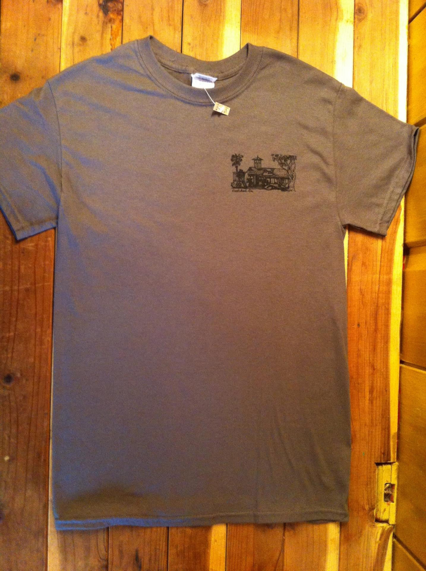Mens The Shack T-Shirt - Raw Skin Surf Shack