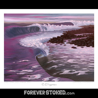 Forever Stoked Prints - Raw Skin Surf Shack