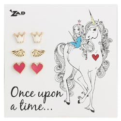 Zad Carded Once Upon A Time Post Earrings