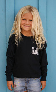 Kids The Shack Long Sleeve - Raw Skin Surf Shack
