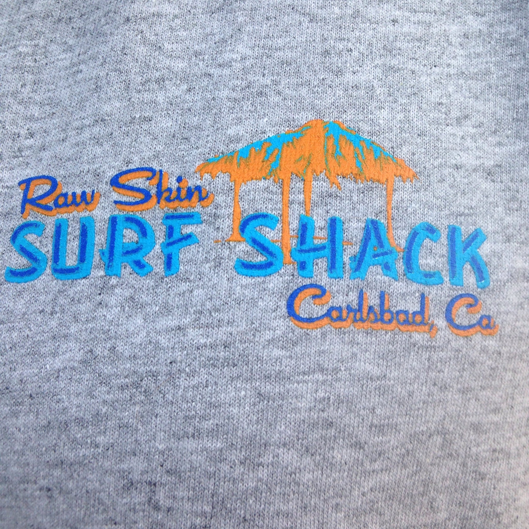 Mens Cat in the Shack T-shirt - Raw Skin Surf Shack