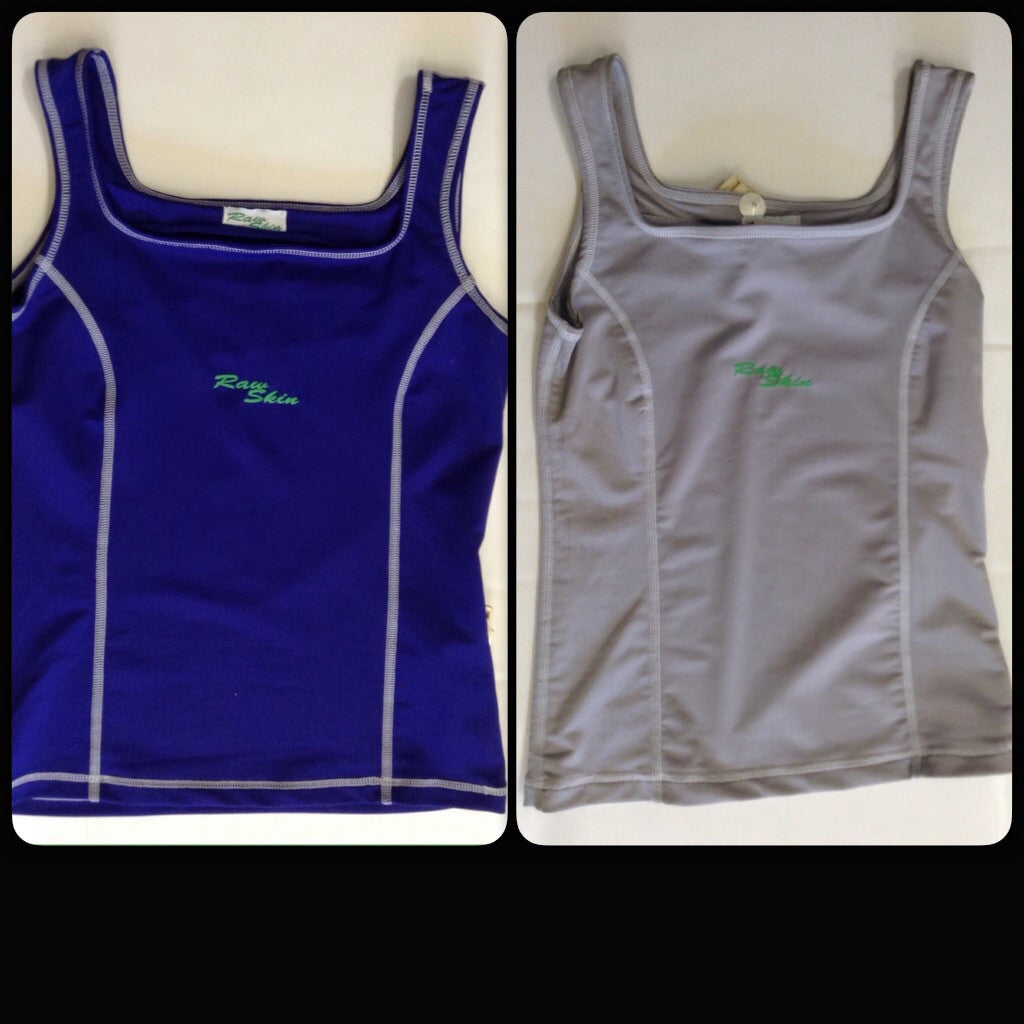 Raw Skin Womens Tank Rash Guard