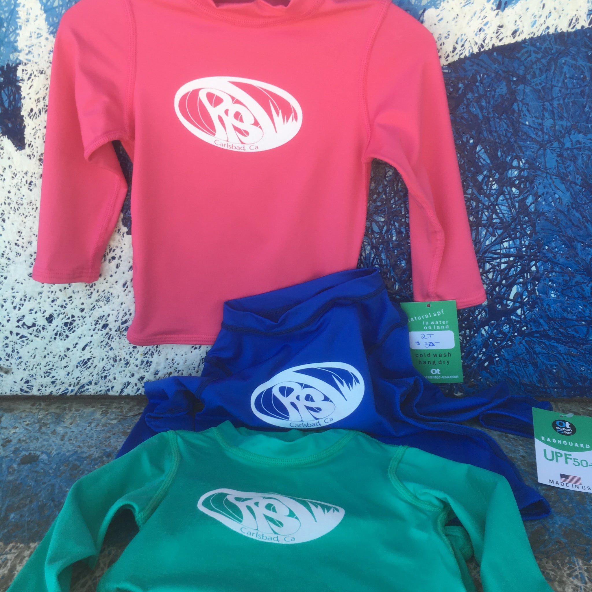 Raw Skin Kids Long Sleeve Rash Guard