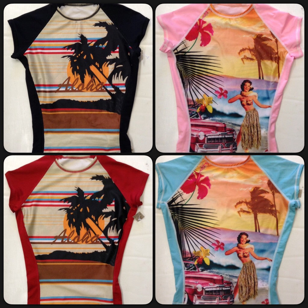 Raw Skin Womens Sublimation Rash Guard