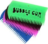Bubble Gum Wax Comb - Raw Skin Surf Shack