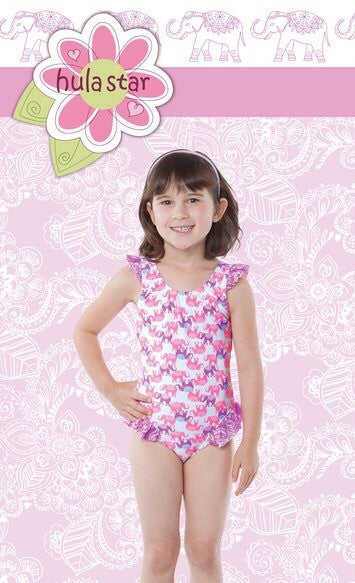 Hula Star Barnum & Bailey 1 Piece - Raw Skin Surf Shack