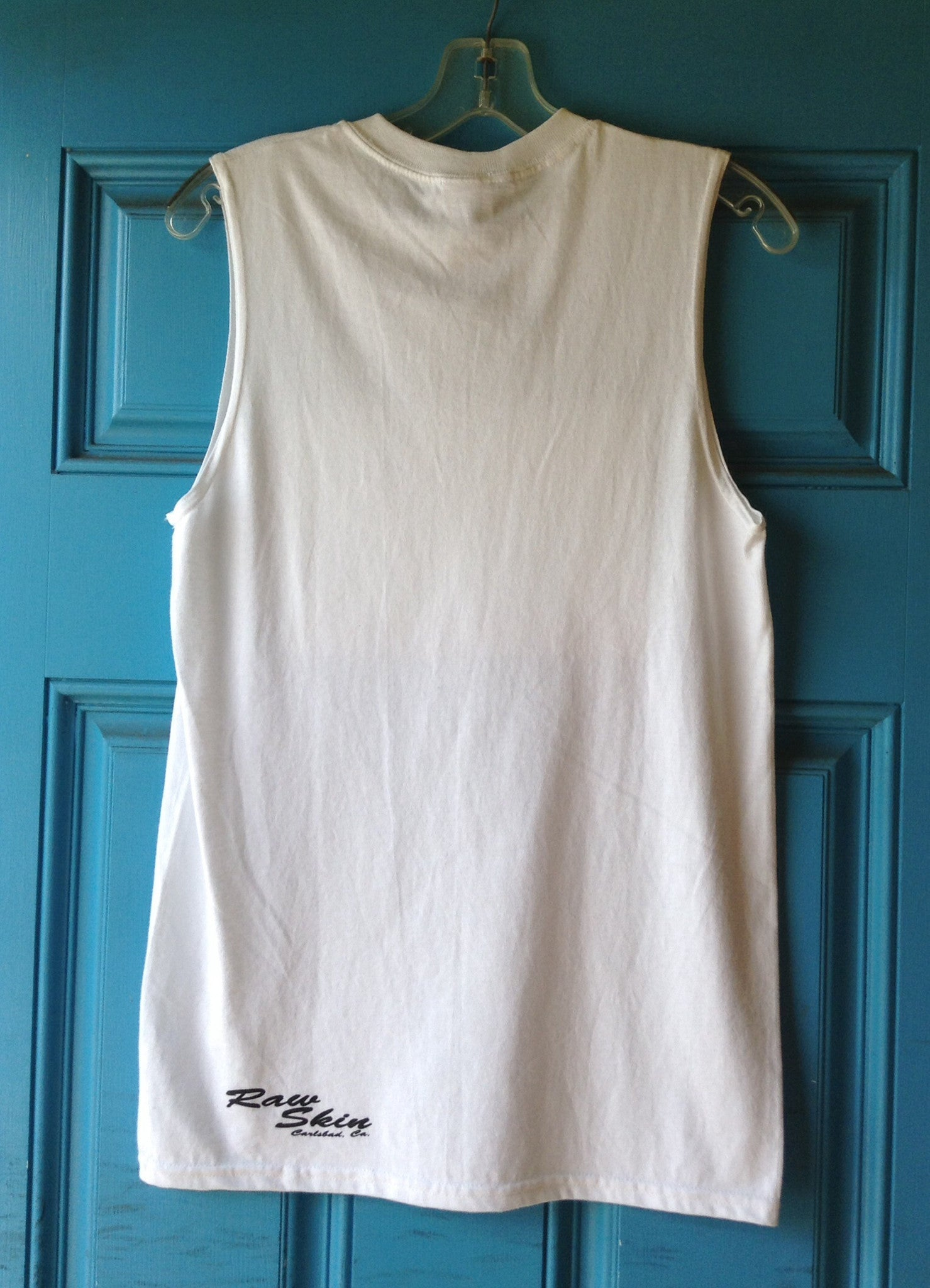 Mens Catlifornia Sleeveless - Raw Skin Surf Shack