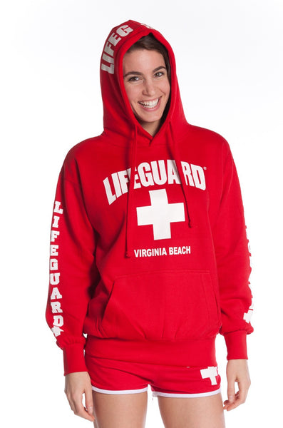 Lifeguard Pull Over Sweatshirt