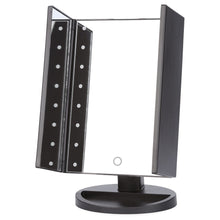 Load image into Gallery viewer, Portable Folding Table 16 LEDs Lamp Luminous Cosmetic Mirror - Coco Mink Lashes
