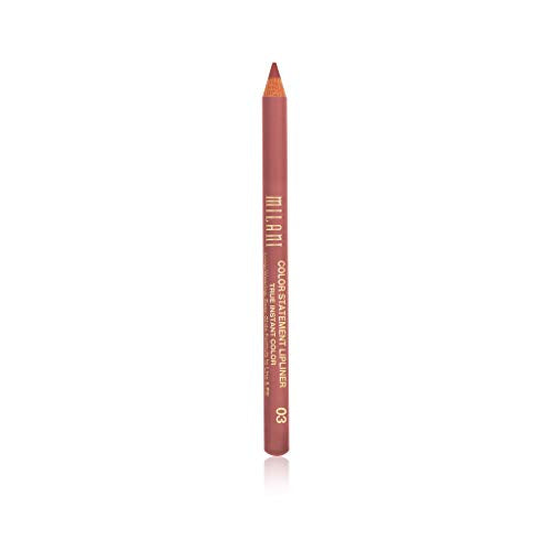 Milani Color Statement Lipliner - Nude (0.04 Ounce) Cruelty-Free Lip Pencil to Define, Shape & Fill Lips - Coco Mink Lashes