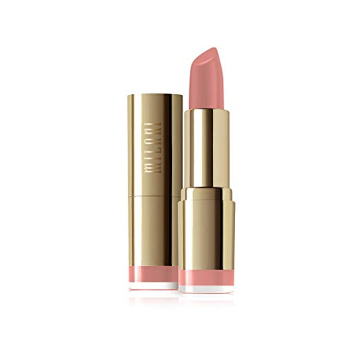 Milani Color Statement Matte Lipstick - Matte Naked (0.14 Ounce) Cruelty-Free Nourishing Lipstick with a Full Matte Finish - Coco Mink Lashes