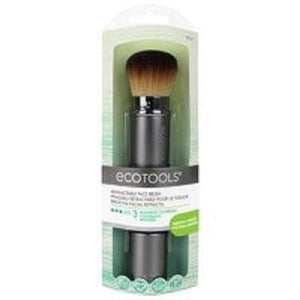 EcoTools Retractable Kabuki Travel Foundation Brush - Coco Mink Lashes